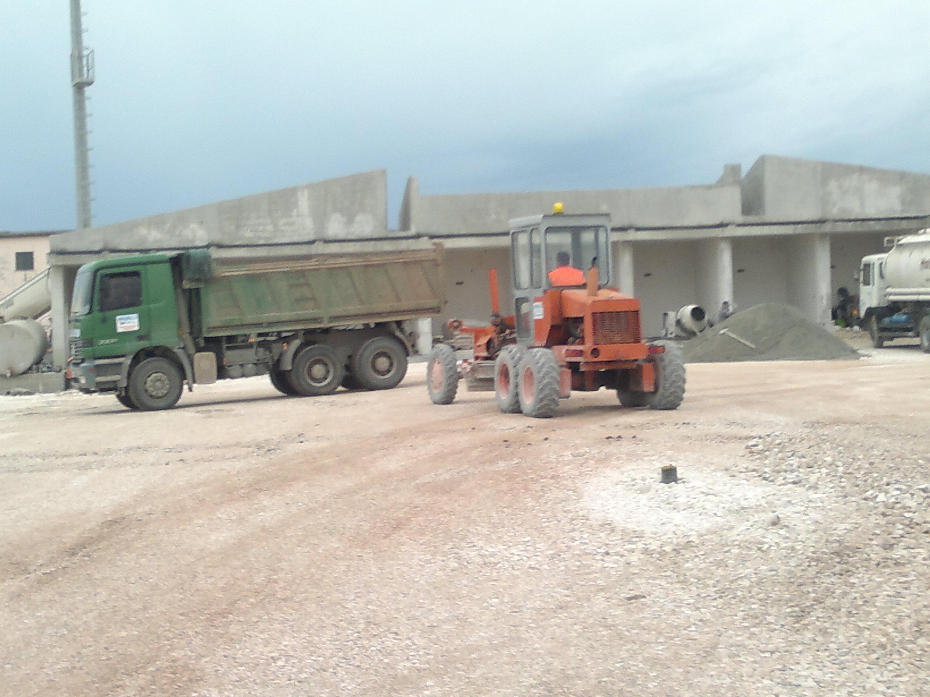 Ndertim i Hyrjes Porta Nr.4 dhe rruges deri te terminali i trageteve