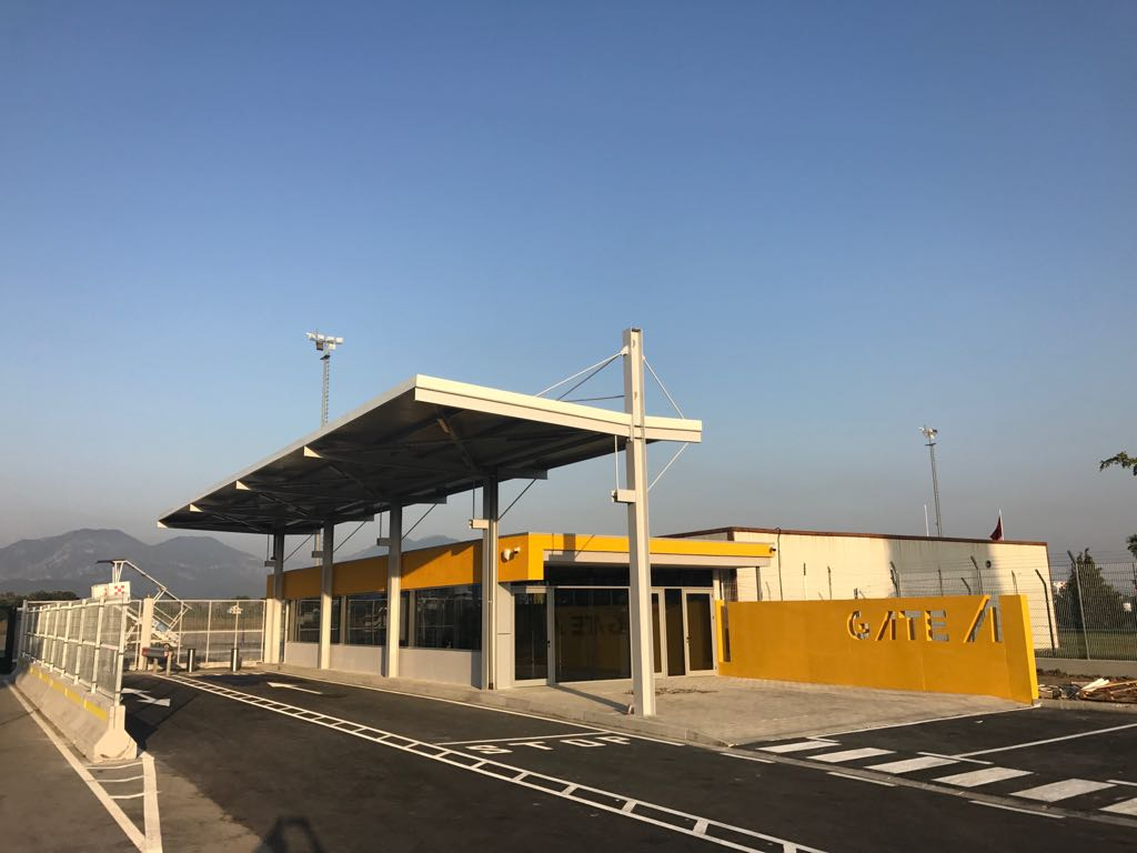 Reconstruction of Port A, Tirana International Airport