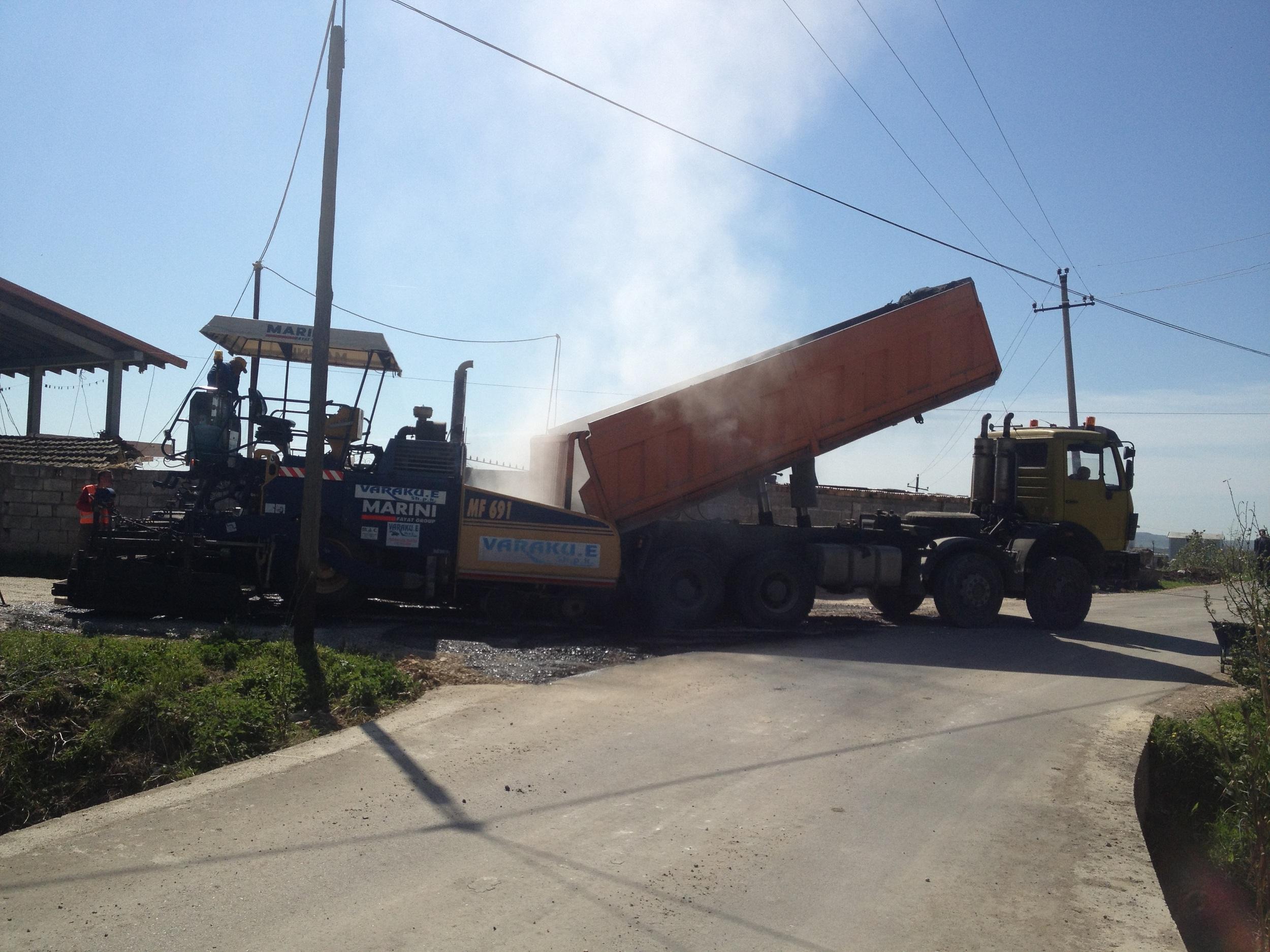 "Rikontruksioni i Rruges ""Rruga Nacionale – Qender Manskuri"""