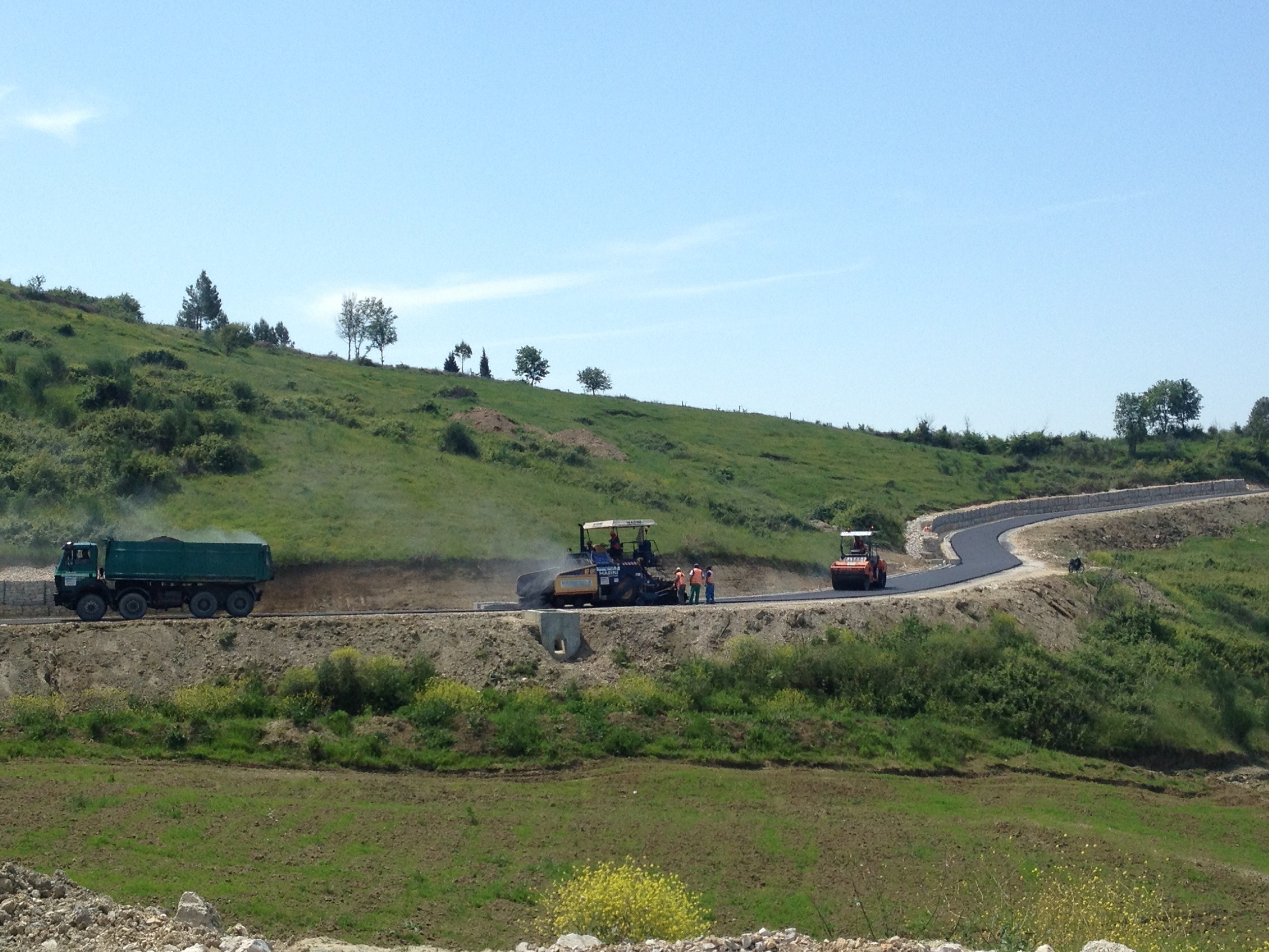"Reconstruction of the Road ""National Road – Qender Manskuri"""