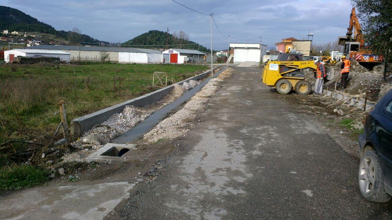 Rikonstruksion i rrugeve Vaqarr,Rruga Nacionale Qender Vaqarr,Rruga Cir Ibro dhe Rrugicat
