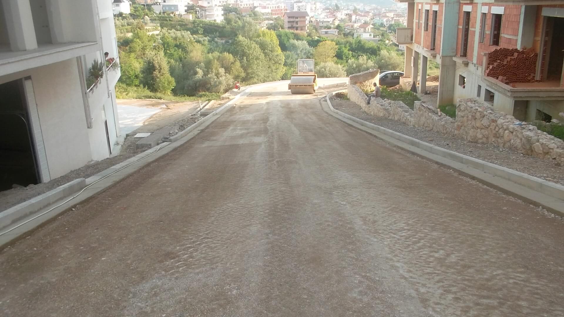 Rikonstruksion i rruges Qesarake,Dajt,FSHZH