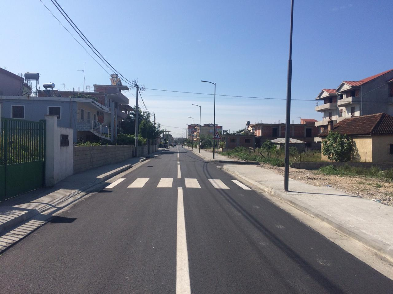 Rikonstruksion rruga Adem Jashari